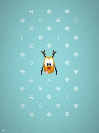 2015 Disney Parks Holiday Wallpaper