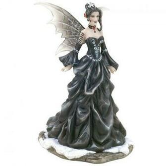 Figurine Fee Queen Of Shadows Nene Thomas Fairysite Nt138b Jpg HD