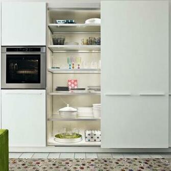 Sliding doors from Varenna Kitchen storage   10 of the best