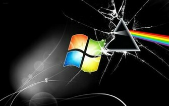 The Dark Side of the Moon Windows Wallpaper by AlduinTheW0rld3ater on