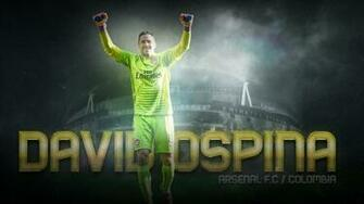 Wallpaper David Ospina Arsenal FC by CubanoDesign