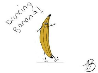 Dancing Banana by jjisthyname on deviantART