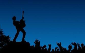 Silhouette Rock Concert Wallpaper Wallpaper wallpaperlepicom