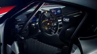 Wallpaper Toyota GR Supra GT4 2019 Cars Geneva Motor Show 2019