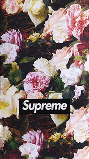 Supreme Floral Wallpaper Wallpaper iimgurcom