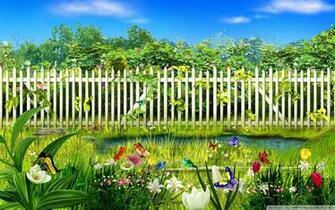Spring Garden 4K HD Desktop Wallpaper for 4K Ultra HD TV