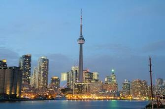 Toronto Skyline At Night Pictures