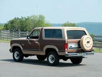 1982aei86 Ford Bronco XLT suv 4x4 wallpaper background