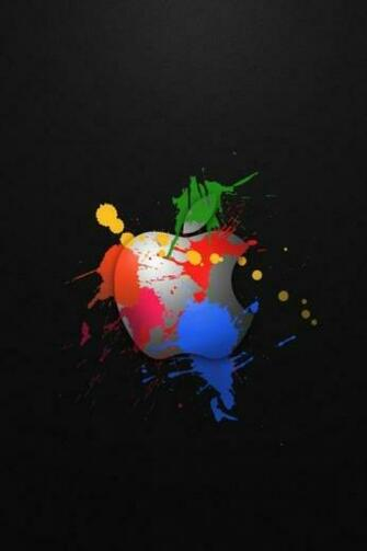 Apple Logo Wallpaper for iPhone 4S