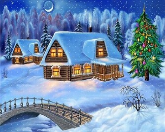 free christmas 3d wallpaper
