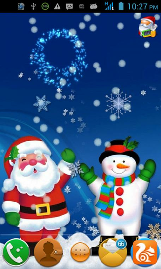 Download Christmas Sound Live Wallpaper for android Christmas Sound