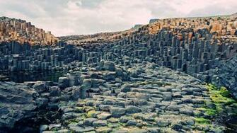 Giants causeway in northern Ireland [1920x1080] wallpaper