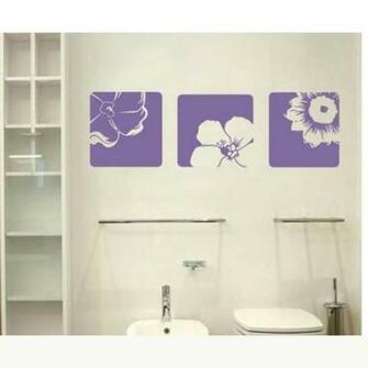 All matching Removable Wallpaper Wall Stickers with Beautiful Flower