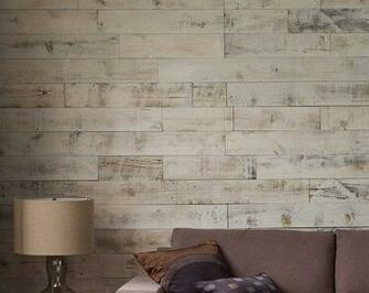 Simple DIY Reclaimed Wood Wall Planks For Your Bachelor Pad   The