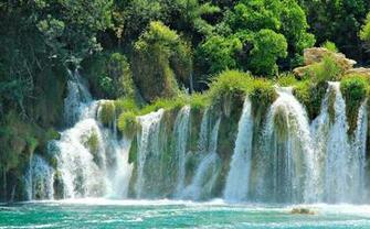 croatia plitvice lakes national park waterfalls croatia national