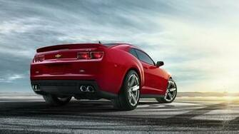 Central Wallpaper Chevrolet Camaro ZL1 Red HD Wallpaper