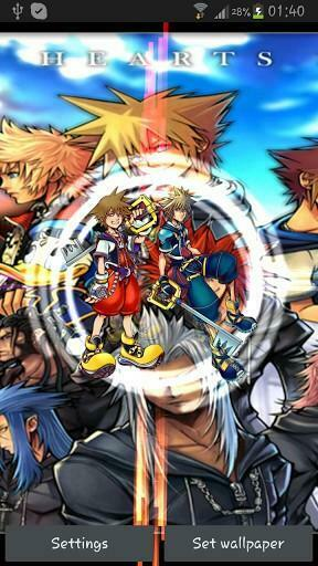 Kingdom Hearts Live Wallpaper in all new Cimer theme loved by lots of