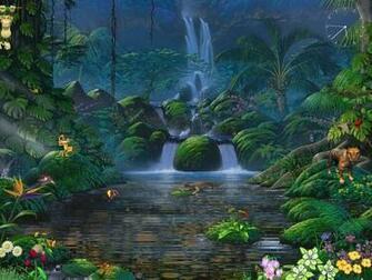 Animated Screensaver   Fascinating Waterfalls   FullScreensavers