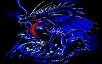 blue wallpaper 46 Blue Dragon Wallpaper