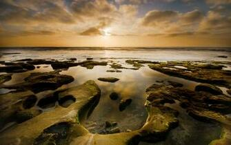 La Jolla Horseshoe Sunset 1280x800 wallpaper download page 338108