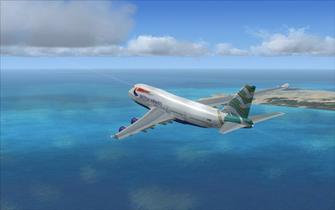 Flight Simulator X Deluxe wallpaper