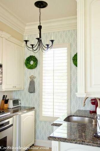Kitchen with removable wallpaper devinecolor target