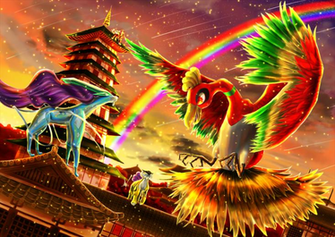 33 Ho oh Pokmon HD Wallpapers Background Images
