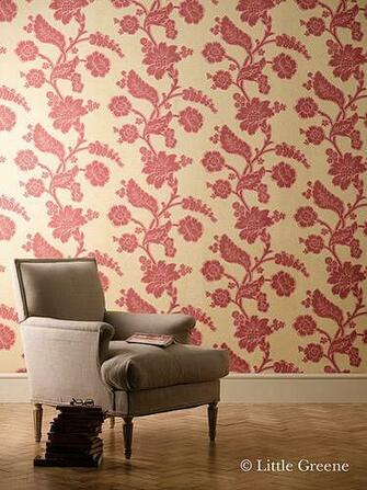 London Wallpapers Soho square Bronze Red Were very happy