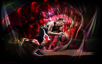 Derrick Rose Wallpaper by JamesChen