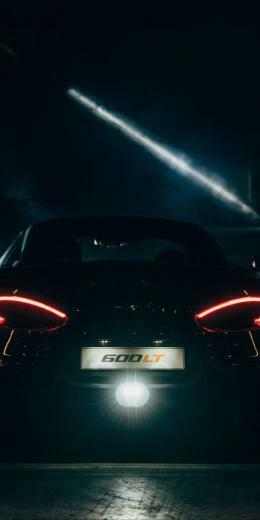 dreaded wallpaper Black supercar tail lights McLaren 10802160