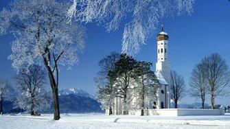 winter background photo 1920x1080