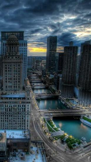 Chicago City Illinois   The iPhone Wallpapers