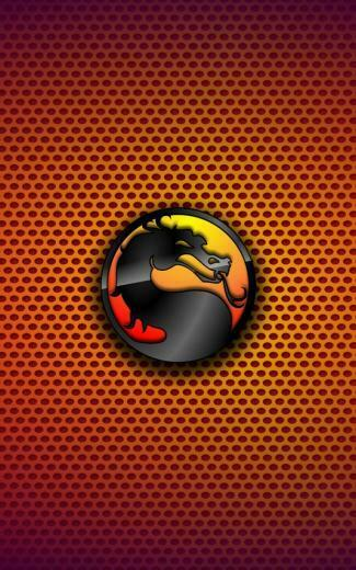 Mortal kombat logos logo symbols gradient background wallpaper