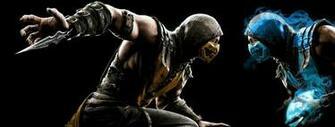 Mortal Kombat X   Scorpion vs Sub Zero by mkfan786