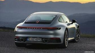 2020 Porsche 911 Carrera 4S   Rear HD Wallpaper 6