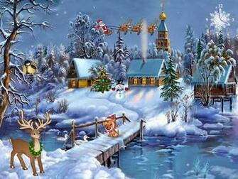 Christmas Screensaver   Christmas Symphony   FullScreensaverscom