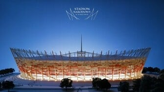 Warsaw Euro Football Stadium Wallpapers HD Wallpapers