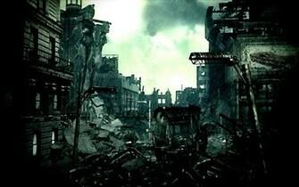 destroyed fallout 3 cities City Wallpaper Desktop Wallpaper