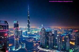 nice view of burj al khalifa dubai in high definition