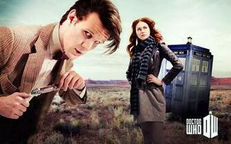 Matt Smith Karen Gillan Amy Pond Eleventh Doctor Doctor Who