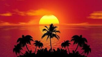 Sunset Art Wallpaper