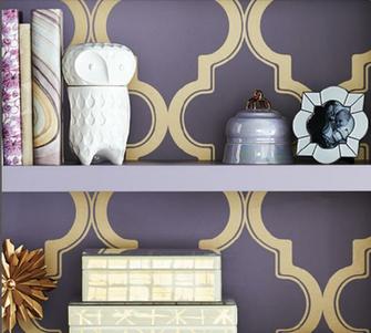 Devine It Yourself at Target   Devine Color Trellis Wallpaper