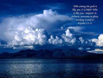 Inspirational bible verse screensaver