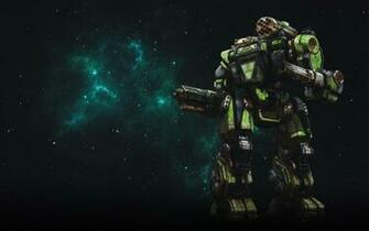 MWO Summoner Thor Wallpaper by Odanan