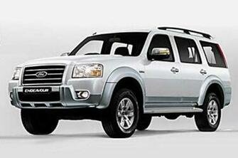 Ford Endeavour Hurricane Limited Edition 2013 Wallpaper