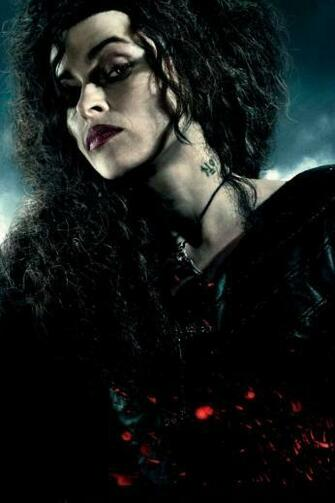Harry Potter and the Deathly Hallows Bellatrix Le iPhone 4 Wallpaper