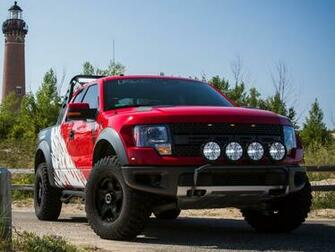 2012 Roush Ford F 150 SVT Raptor 4x4 muscle truck wallpaper background
