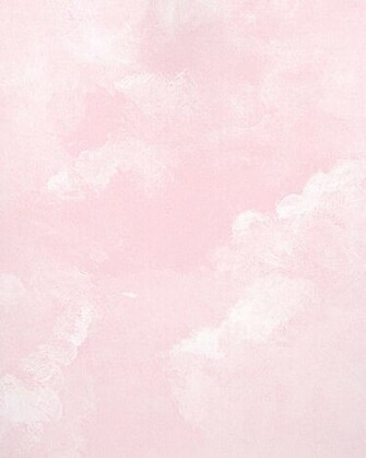 Light Pink Faux Cloud Wallpaper   Wall Sticker Outlet