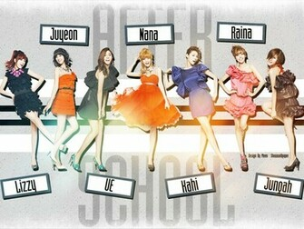 After School Wallpaper 2 kdrama and kpop