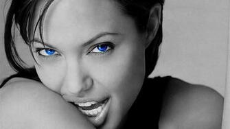 Angelina Jolie Blue Eyes HD Wallpaper 2414 Wallpaper computer best